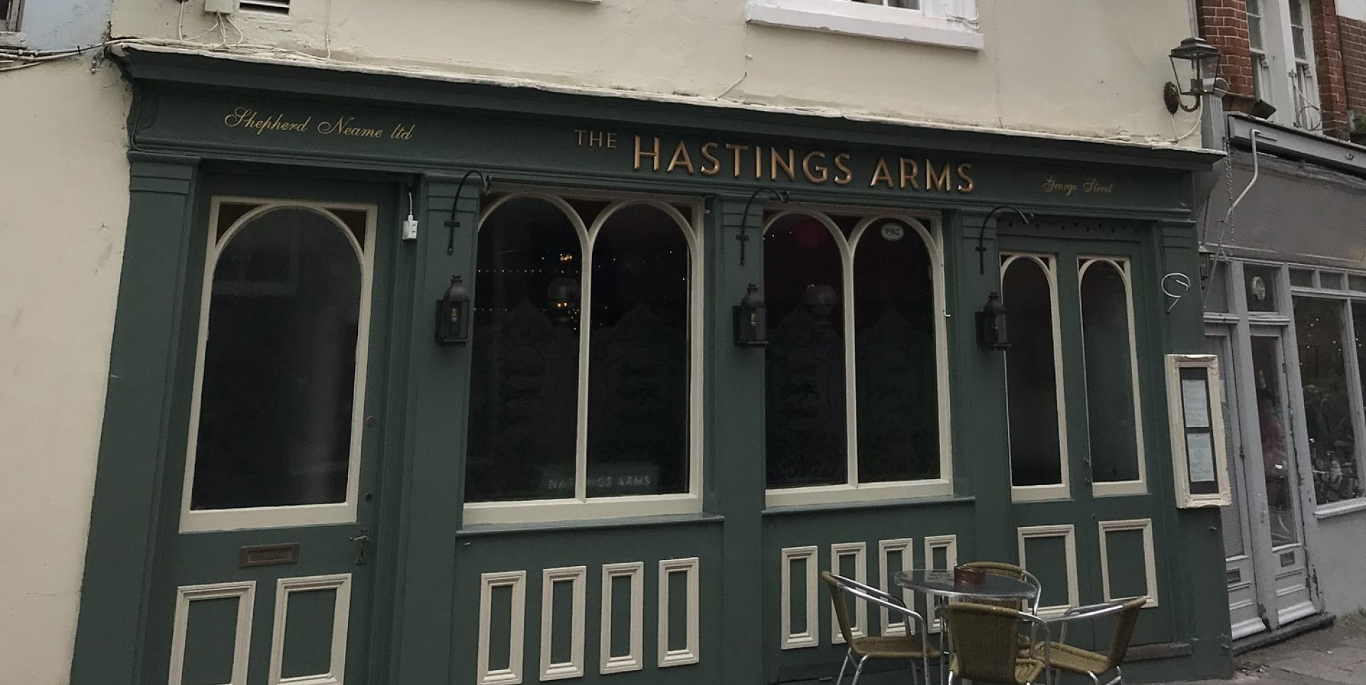 Hastings Arms, Hastings